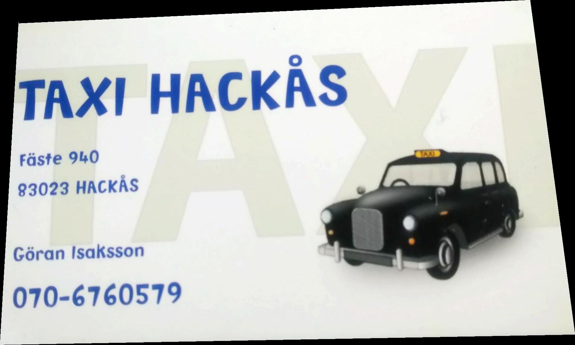 Taxi Hackås